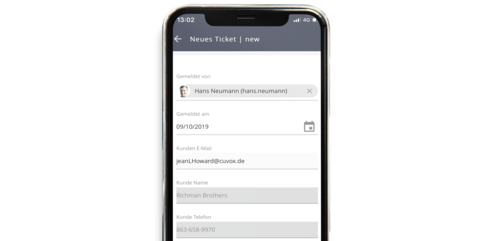 JobRouter® Mobile Dialog